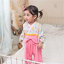 baby童衣 男女寶寶假兩件日式和服連身衣 37301