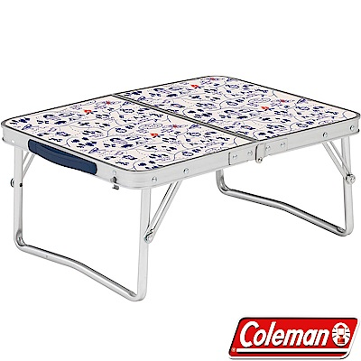Coleman 34616露營地圖 戶外抗菌迷你桌 53x40cm 戶外行動桌/折合桌摺桌