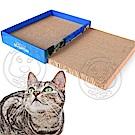 dyy》磨抓瓦楞紙貓抓板兩塊組合裝(附貓草粉)