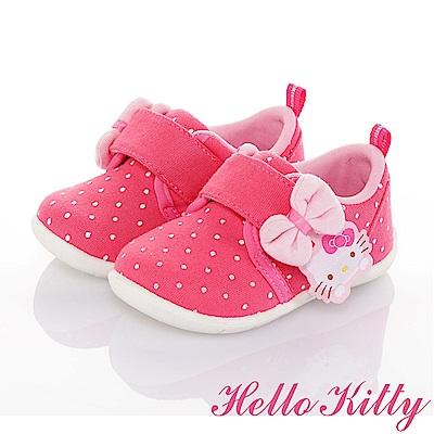 HelloKitty 官方獨家販售 防滑柔軟減壓學步童鞋-可室內-桃