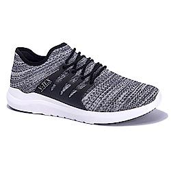 V-TEX 時尚針織耐水鞋/防水鞋 地表最強耐水透濕鞋-律動灰(男)