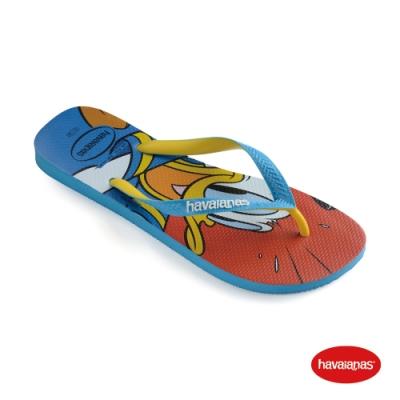 Havaianas 哈瓦仕 拖鞋  夾腳拖 人字拖 巴西 童鞋 兒童 藍綠色 4123500-0212K Kids Disney Stylish 迪士尼