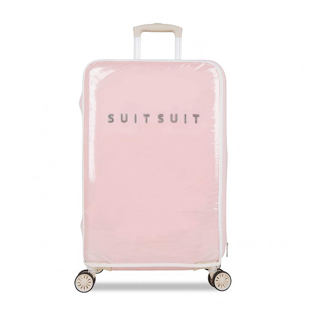 SUITSUIT Fabulous PC塑膠 行李箱保護套24吋-粉紅