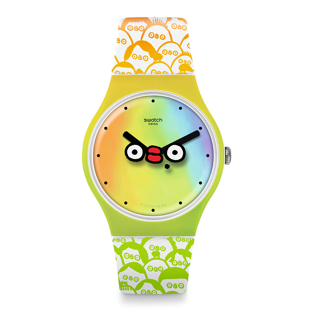 Swatch  CLUB WATCH系列 WHAT S YO FACE