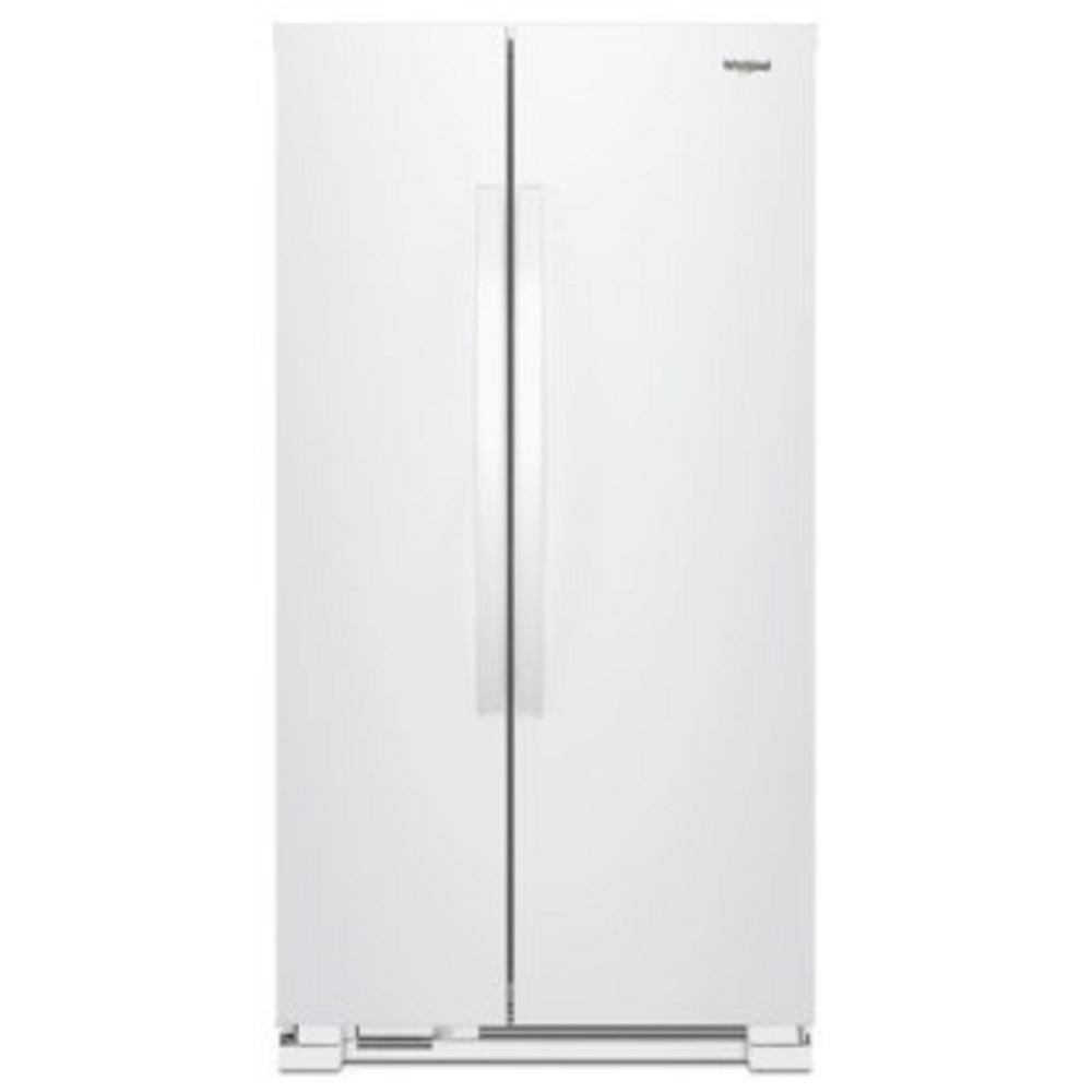 Whirlpool惠而浦 640L 5級定頻對開2門電冰箱 WRS312SNHW