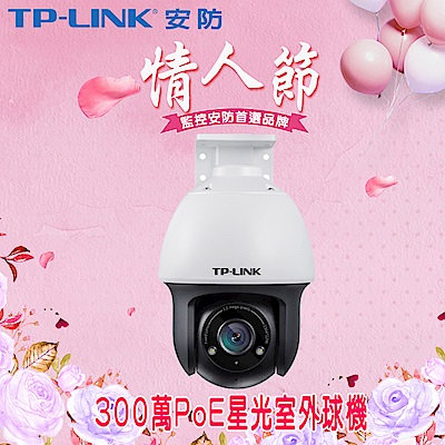 【TP-LINK】300萬PoE星光室外球機(4G) TL-IPC633P-D