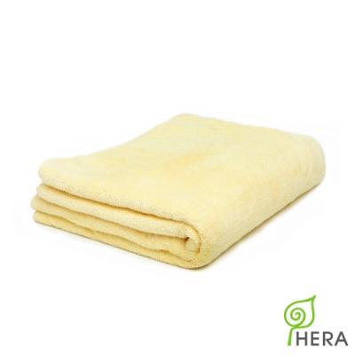 HERA 3M專利瞬吸快乾抗菌超柔纖-多功能毯-奶油黃