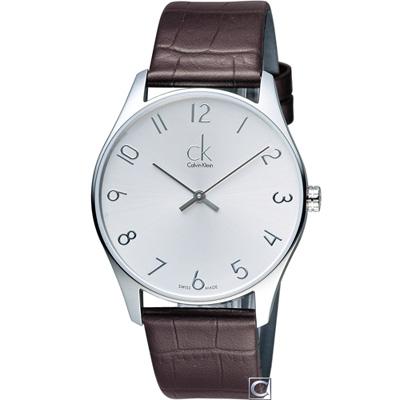 Calvin Klein Classic 簡約經典時尚腕錶(K4D211G6)