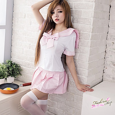 5XL號超大尺碼水手服cosplay服裝~粉紅性感學生服水手制服情趣角色扮演服裝 流行E線