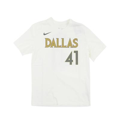 NIKE NBA 短袖T恤 城市版 獨行俠隊 Dirk Nowitzki