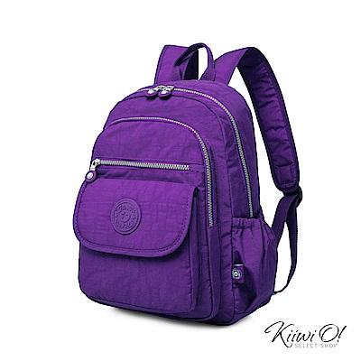 Kiiwi O! 實用機能系列後背包 TERESA 紫