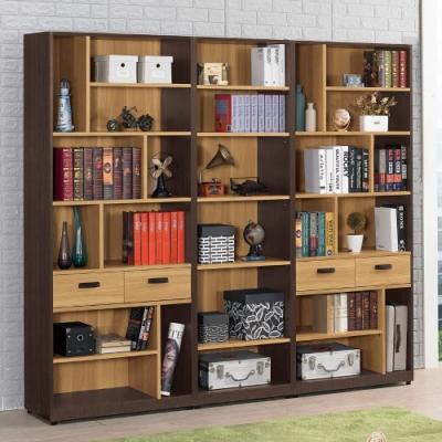 MUNA 費德勒7.3尺開放式書櫃(整組) 220X40X200cm