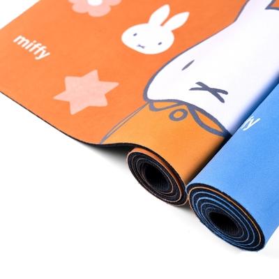 【Miffy米飛】軟式珪藻土 居家萬用地墊 稍息 (90cm x 45cm)
