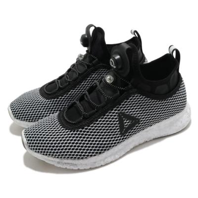 Reebok 慢跑鞋 Pump Plus Night 運動 女鞋 海外限定 輕量 透氣 舒適 避震 路跑 黑 白 BS8572