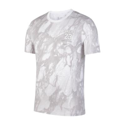 NIKE NBA 大理石紋 MVP 短袖T恤 湖人隊 LeBron James