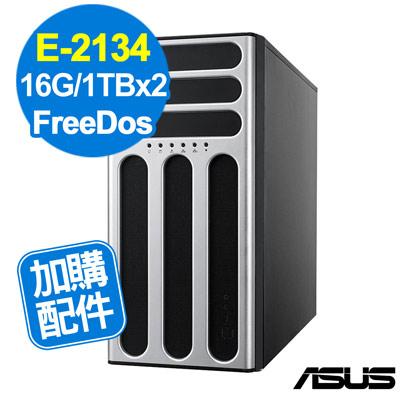 ASUS TS300-E10 E-2134/16GB/1TBx2/FD