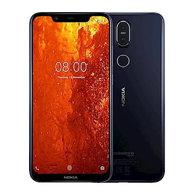 Nokia  8 . 1  ( 4 G/ 64 G)  6 . 18 吋 PureDisplay 八核心智慧手機