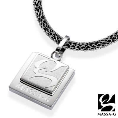 MASSA-G《brand風格》搭配 X1 4mm超合金鍺鈦項鍊