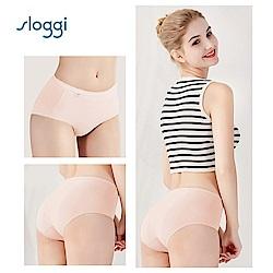 sloggi Comfort 高腰小褲兩件促銷包 柔嫩粉