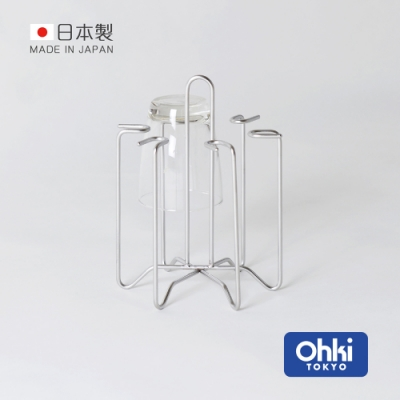 日本大木金屬 Outline 日製究極鏤線18-8不鏽鋼水杯瀝水架