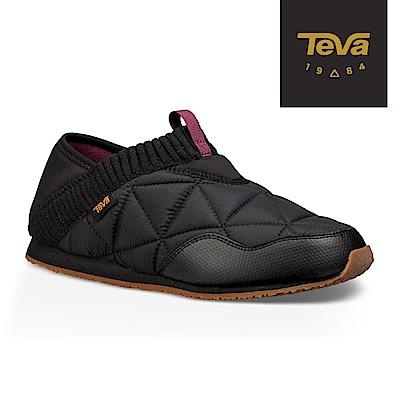 TEVA 美國-女 Ember Moc 菠蘿麵包鞋 黑