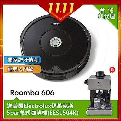 美國iRobot Roomba  606 掃地機器人 (總代理保固 1 + 1 年)