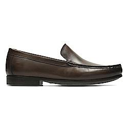 Clarks Claude Plain 男 正裝皮鞋 深棕