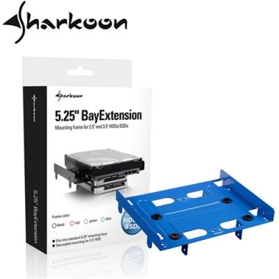 Sharkoon 旋剛 5.25吋通用型硬碟轉接架