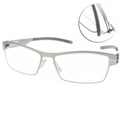 ic!berlin眼鏡 薄鋼/霧銀 #DARREN C. PEARL