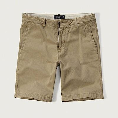 AF a&f Abercrombie & Fitch 短褲 卡其色 0867