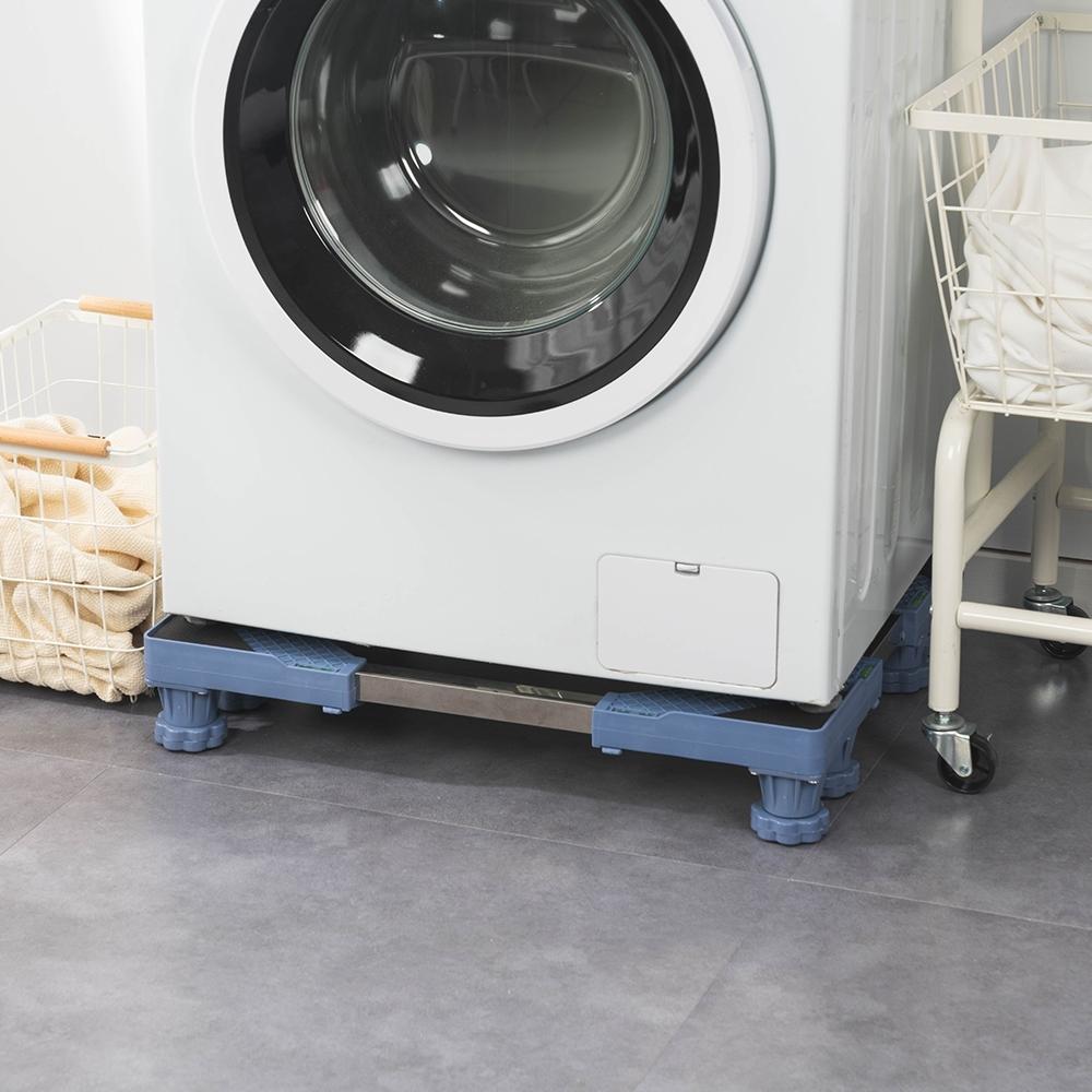 樂嫚妮 可伸縮調節洗衣機台座托架-八腳柱款 [限時下殺]