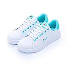FILA 女性潮流復古綁帶鞋-湖水藍 5-C302T-133