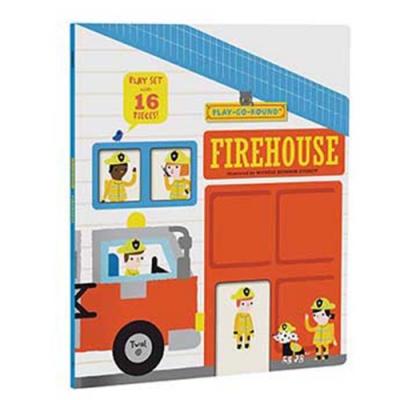 Firehouse:Play-Go-Round 消防隊情境遊戲書