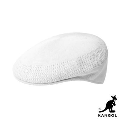 KANGOL-504 TROPIC 鴨舌帽-白色