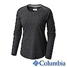 Columbia 哥倫比亞 女-防曬UPF30快排長袖上衣-黑色