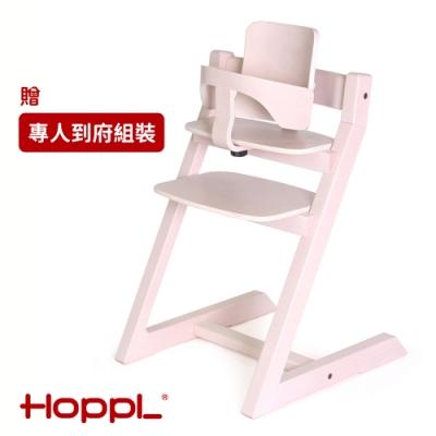 [日本HOPPL]Choice嬰兒成長椅-橡木白(含組裝)