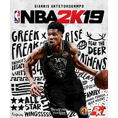 (預購)NBA 2K19 - XBOX ONE 亞版 中文一般版