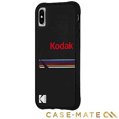 美國 CASE●MATE iPhone Xs / X Kodak柯達聯名款強悍防摔殼-霧黑