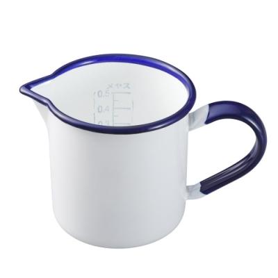野田琺瑯 量杯(0.5L)