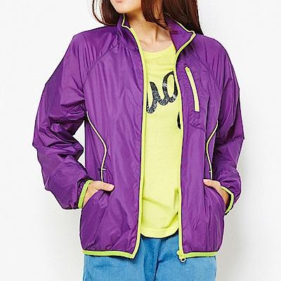 【TOP GIRL】抗UV立領風衣外套-紫