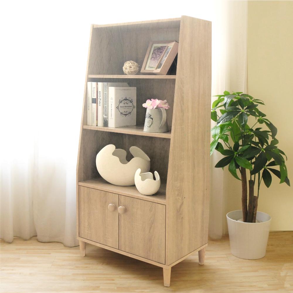 《HOPMA》DIY巧收簡約四層二門收納櫃-寬60 x深35 x高131.5cm