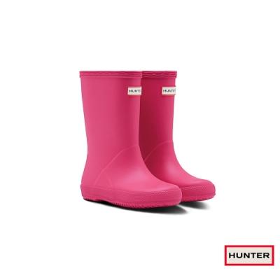 HUNTER - 童鞋 - 小童經典霧面短靴 - 粉