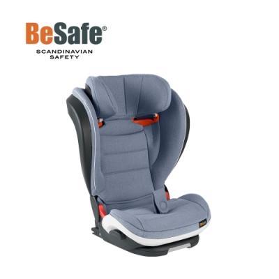 BeSafe iZi Flex FIX 成長型兒童汽車安全座椅-雲霧藍
