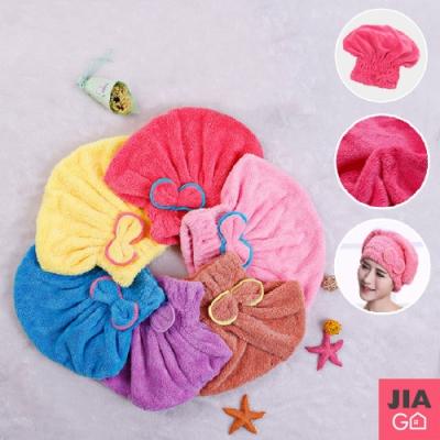 JIAGO 超強吸水乾髮帽(2入/組)