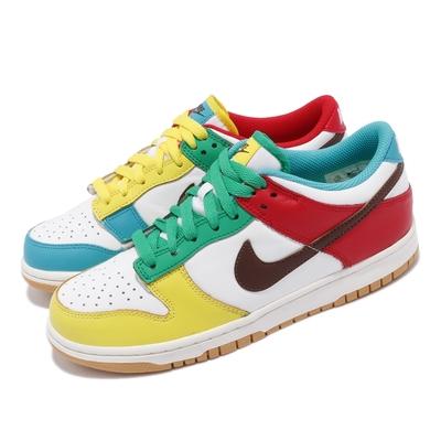 Nike 休閒鞋 Dunk Low SE GS 復古 女鞋 彩蛋 鴛鴦 潮流穿搭 球鞋 彩色 CZ2496100