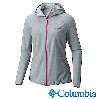 Columbia 哥倫比亞 女款-防潑外套 -灰色 UWR11730GY