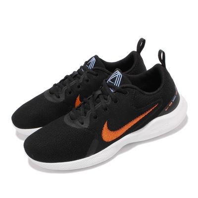 Nike 慢跑鞋 Flex Experience RN 男鞋 輕量透氣 舒適避震 後跟拉環易穿脫 黑 白 CI9960-008