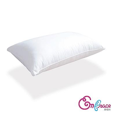 Embrace英柏絲 台灣製Q彈釋壓 獨立筒彈簧枕頭 偏硬枕-一入
