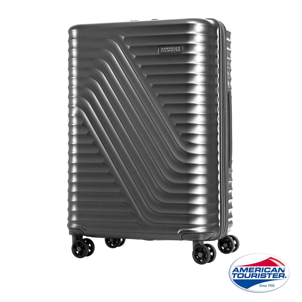 AT美國旅行者28吋High Rock流線硬殼TSA行李箱(霧灰)