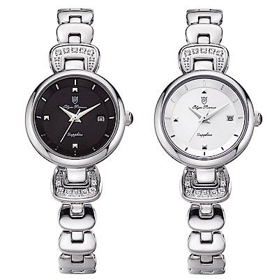 OlymPianus奧柏表 愛鍊傳說晶鑽時尚腕錶